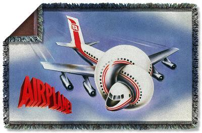 Airplane - Poster Woven Throw
