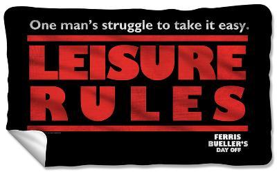 Ferris Bueller - Struggle Fleece Blanket