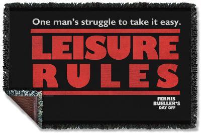 Ferris Bueller - Struggle Woven Throw