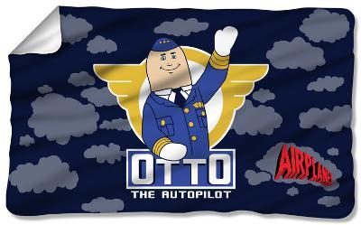 Airplane - Otto Fleece Blanket