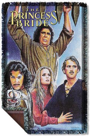 Princess Bride - Alt Poster Woven Throw
