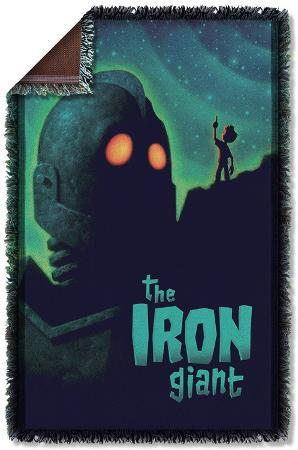 Iron Giant - Look To The Stars Woven Throw