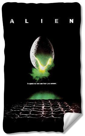 Alien - Poster Fleece Blanket
