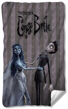 Corpse Bride - Bride And Groom Fleece Blanket