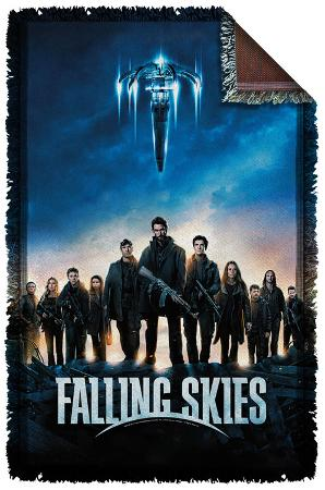 Falling Skies - Poster Woven Throw