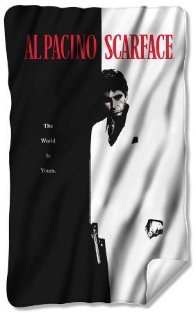 Scarface - Poster Fleece Blanket