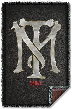 Scarface - Monogram Woven Throw
