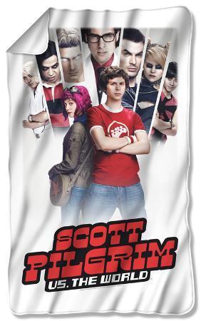 Scott Pilgrim - Poster Fleece Blanket