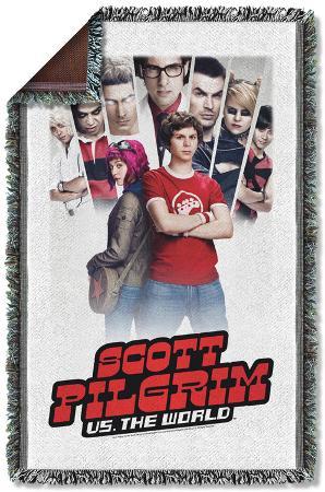 Scott Pilgrim - Poster Woven Throw