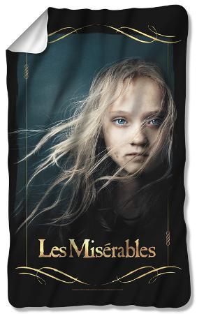 Les Miserables - Girl Fleece Blanket