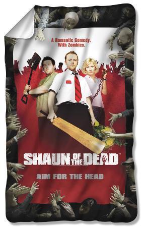 Shaun Of The Dead - Poster Fleece Blanket