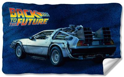 Back To The Future - Delorean Fleece Blanket