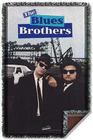 Blues Brothers - Poster Woven Throw