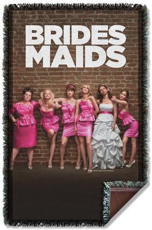 Bridesmaids - Poster Woven Throw