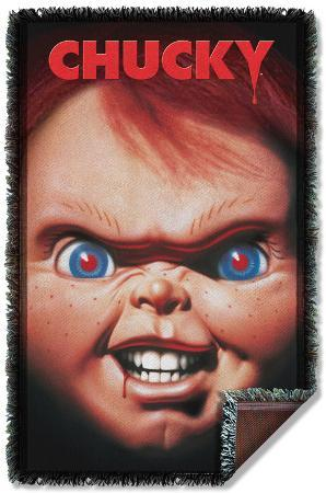 Childs Play 3 - Poster Woven Throw