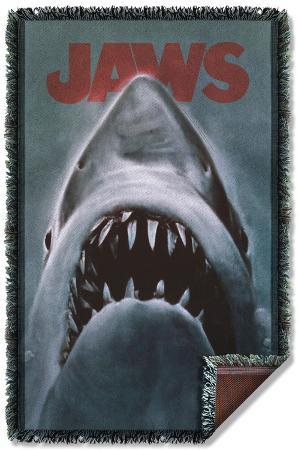Jaws - Shark Woven Throw