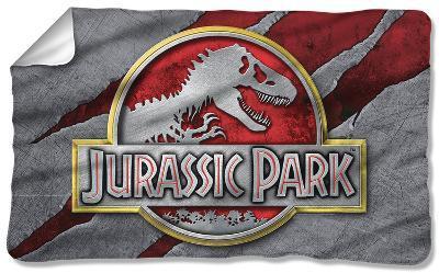 Jurassic Park - Slash Logo Fleece Blanket