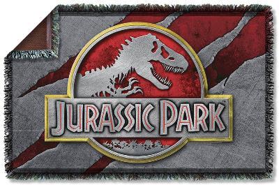 Jurassic Park - Slash Logo Woven Throw