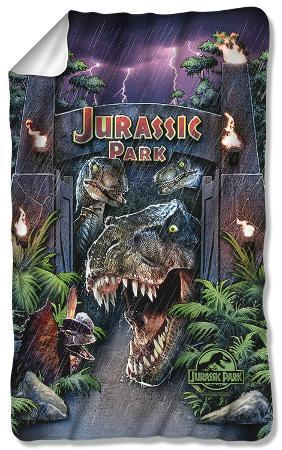Jurassic Park - Welcome To The Park Fleece Blanket