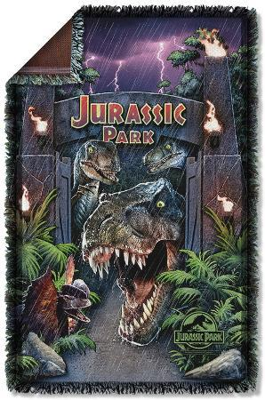 Jurassic Park - Welcome To The Park Woven Throw