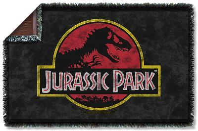 Jurassic Park - Classic Logo Woven Throw