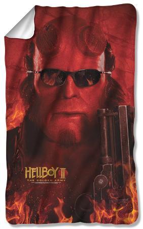 Hellboy II - Big Red Fleece Blanket