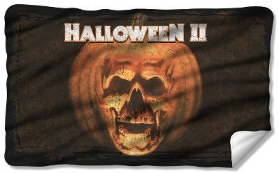 Halloween II - Poster Sub Fleece Blanket