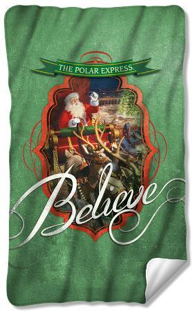 Polar Express - Santa Fleece Blanket