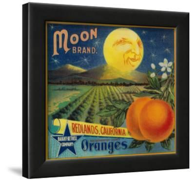 Moon Orange Label - Redlands, CA
