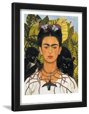 Self-Portrait with Thorn Necklace and Hummingbird, c.1940
