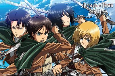 Attack On Titan - Swords