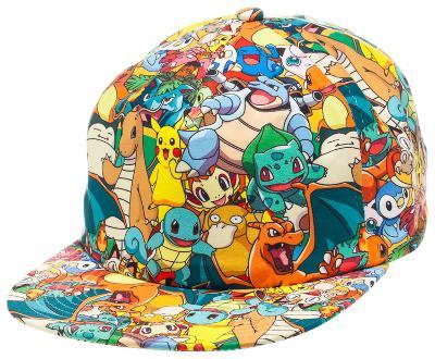 Pokemon - AOP Sublimated Cap