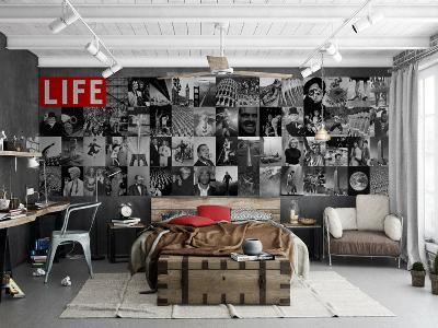 Creative Collage LIFE Icons - 64 piece Wallpaper Collage