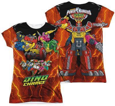 Juniors: Power Rangers - Zord Power (Front - Back Print)