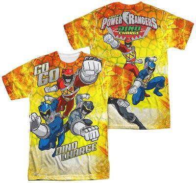 Power Rangers - Go Go Dino Charge (Front - Back Print)