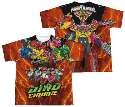 Youth: Power Rangers - Zord Power (Front - Back Print)