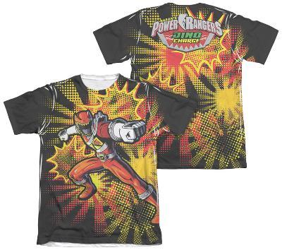 Power Rangers - Red Ranger Burst (Front - Back Print)