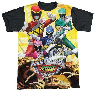 Power Rangers - Charged For Battle Black Back