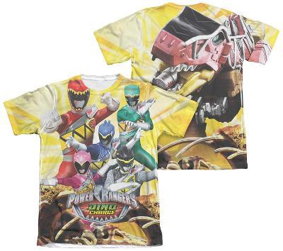 Power Rangers - Charged For Battle (Front - Back Print)