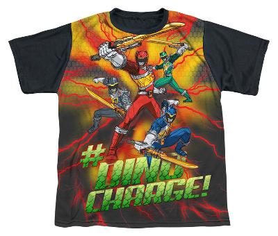 Youth: Power Rangers - Hashtag Black Back