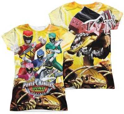 Juniors: Power Rangers - Charged For Battle (Front - Back Print)