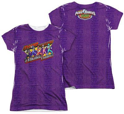 Juniors: Power Rangers - Taking Charge (Front - Back Print)