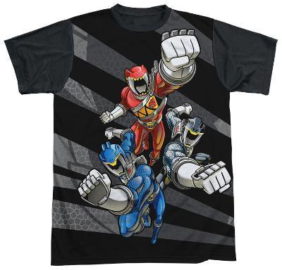 Power Rangers - Let'S Bolt Black Back