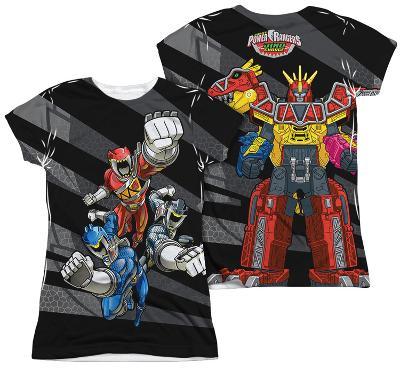 Juniors: Power Rangers - Let'S Bolt (Front - Back Print)