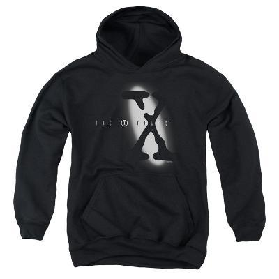 Youth Hoodie: X Files - Spotlight Logo