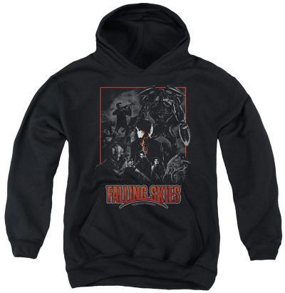 Youth Hoodie: Falling Skies - Collage