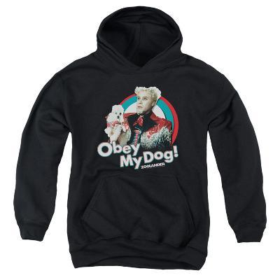 Youth Hoodie: Zoolander - Obey My Dog