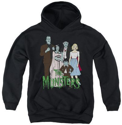 Youth Hoodie: The Munsters - The Family