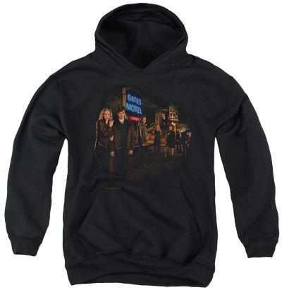 Youth Hoodie: Bates Motel - Cast