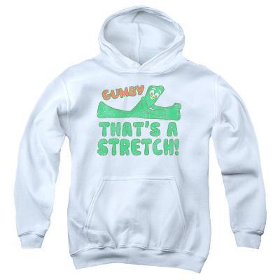 Youth Hoodie: Gumby - That'S A Stretch